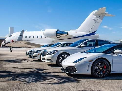 Private-jets-supercars